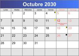 imagenes calendario octubre 2015 para imprimir calendario 2030 para imprimir y descargar pdf abc calendario es