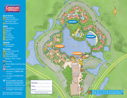 Disney Maps Incredible Map Of Walt Disney World Resort Southtracks Disney