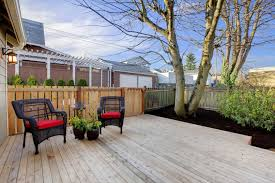 Small Backyard Deck Ideas Backyard Deck With Outdoor Casual Dining Room Idea Grabbing