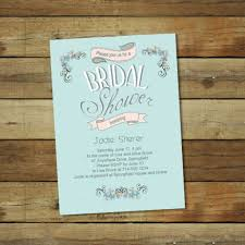 budget bridal shower invitations free printable invitation design