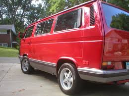 volkswagen vanagon 1987 1990 volkswagen vanagon carat wolfsburg edition german cars for