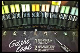 revlon u0027limited edition u0027 chalkboard nail art collection u2013 pearls