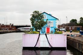airbnb houseboats spend night on airbnb s floating house artnet news