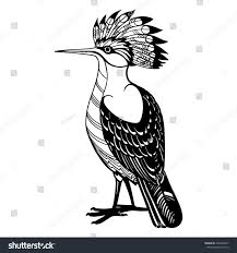 free printable hoopoe bird coloring pages for kids