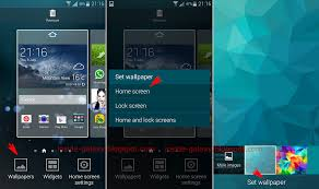 how to change lock screen on android set wallpaper android