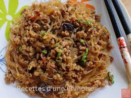 cuisiner vermicelle de riz recettes d une chinoise fourmis rantes ou fourmis grimpent aux