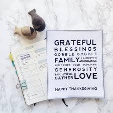 free printables thanksgiving poster u0026 christmas gift list