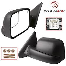 yitamotor towing mirrors for dodge 02 08 ram 1500 03 09 ram 2500
