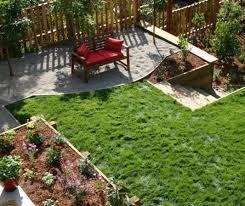 Landscaping Ideas For Sloped Backyard Backyard Sloped Backyard Horrible Sloped Backyard House Plans
