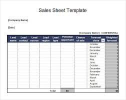 Excel Sales Templates Sle Sales Sheet Daily Call Tracking Sheet Sle Pdf Template