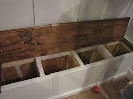 Mudroom Storage Bench Adding A Mudroom To Our Garage Hometalk