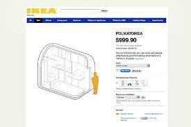 Ikea Prefab Home Polikatoikea Combines Small Space Living With Urban Design And An