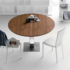 Fancy Modern Round Kitchen Table  Design On Sets For  Home - Round kitchen dining tables