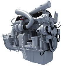 paccar trucks truck 3d engine models u2013 3d horse