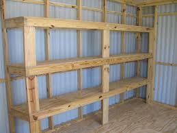 diy garage shelves planwood storage plans ideas venidami us full image for cheap garage shelving ideas and planswood storage plans diy pinterest