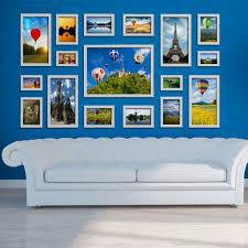 hello 17pcs romantic art home decor set creative combination wall
