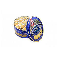 royal dansk butter cookies tin 4 lb staples