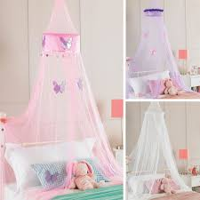 girls bed net childrens girls bed canopy mosquito fly netting ruffle or