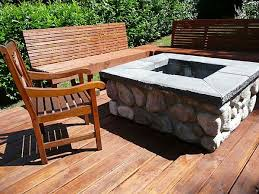 Square Firepit Design Guide For Outdoor Firplaces And Firepits Garden Design
