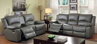 Reclining Sofa With Console by Recliner Sofa With Console