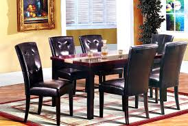 Dining Room Sets 6 Chairs by Roundhill Furniture