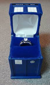 doctor who engagement ring the tardis engagement ring box neatorama