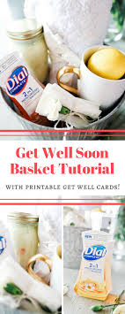 get well soon gift ideas get well soon gift basket tutorial tangled with taste