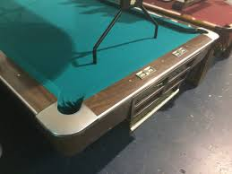 help identifying 8 foot pool table