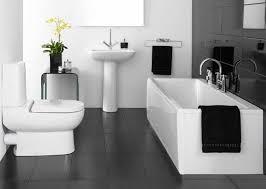 bathroom design black and white box light shade wall lamp glass