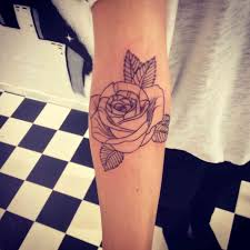 design simple rose tattoo on forearm and tattoo by me simple rose