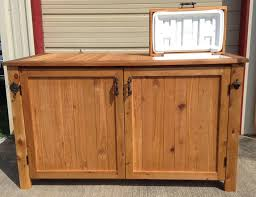 boat dock storage cabinet with cooler order from our etsy site
