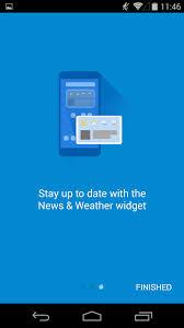 google u0027s news u0026 weather aka u0027genie widget u0027 gets a massive