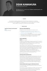 Product Marketing Manager Resume Example by Marketing Manager Resume Samples Visualcv Resume Samples Database