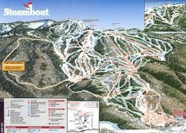 Colorado Ski Area Map by Steamboat Authentic Western Flavor First Tracks Online Ski