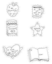 teacher thank you coloring pages coloring pages ideas