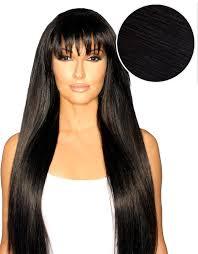 clip in bangs cleopatra clip in bangs jet black 1 bellami bellami hair