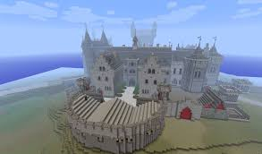 minecraft castle due to the large scale you will feel very small