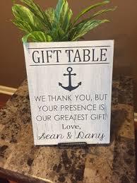 wedding gift table sign wedding gift table sign by kerriart on etsy 22 00 weddings