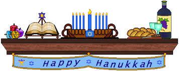 hanukkah banner mantle clip hanukkah mantle with happy hanukkah banner
