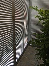 aluminium bi fold louvers door spacedor marketing pte ltd