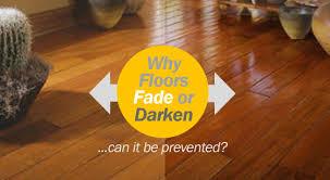 sunlight uv and fading hardwood floors