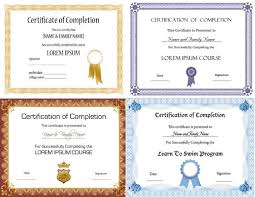certificate design templates free vector download 13 139 free