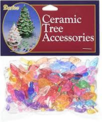 darice plastic ceramic tree bulbs 5 inch 100 pkg small