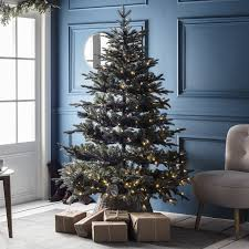marvelous pre lit tree at 7ft frosted mountain spruce