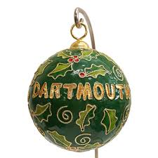 merry cloisonne ornament dartmouth co op