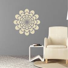 Floral Wall Stencils For Bedrooms Flower Wall Decal Bedroom Wall Sticker Murals Removable Wall
