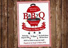 mens baby shower men s babyq bbq barbeque and football baby shower invitation