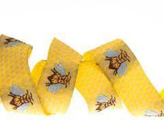 honeycomb ribbon buy ribbons sweet honeybee ribbon lfn textiles renaissance