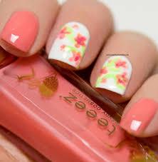 floral nail art my nail polish online nail art flower flower