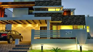 3d front elevation com 1 kanal modern contemporary design 3d